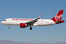 First A320 for Virgin America with ETOPS certification. Called Pineapp...