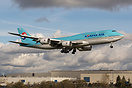 Korean Air Lines Boeing 747-8B5 - cn 40908 / 1525 HL7633 returning to ...