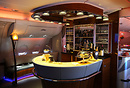 Inflight Bar and Lounge for Business and First Class passengers