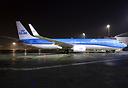 First Boeing 737-900 in the new KLM colours