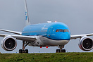 Delivery flight of the first KLM Dreamliner to Amsterdam