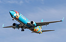 "Alaska Airlines special livery ""The Spirit of Disneyland II"" on final ..."