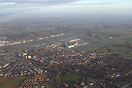 Overview of Brussels airport after a 25R departure with a left turn ou...