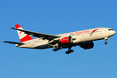 The one and only myAustrian Boeing 777 promiting Austrian's 'my' marke...