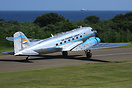 This SAA Historic Flight Douglas DC-3 flew an Amazing Race film crew t...