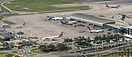 Mid-morning operations at one of Miami's busiest terminals; showing th...