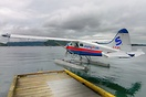 Docked at Mayne Island having just dropped us off on a flight over fro...