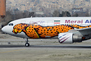 Meraj Air special paint scheme to support wildlife conservation in Ira...