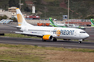 First visit for Air Horizont to Tenerife on a charter flight with jour...