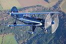 Air-to-Air photo shoot near Wincanton of Acrosport II an aerobatic bi-...