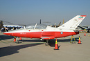 The Owj Tazarve an Iranian made jet training aircraft.
