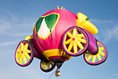 Princess Carriage remained tethered this morning during Balloons over ...