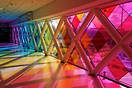 """Harmonic Convergence"" is an installation by Christopher Janney; which..."