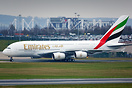 Emirates' newest A380 visited Birmingham on a proving flight a few day...