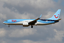 Latest and first Boeing 737 to wear the new livery with TUI titles.