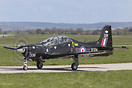 Special Paint scheme Tucano ZF339 seen here with the Central Flying Sc...