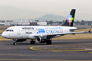 New special paint scheme for Volaris, promoting a non profit organizat...