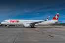 First A321 with sharklets for Swiss