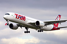 First flight of TAM's 3rd A350, test registration F-WZGD, MSN 35, to b...