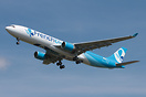 First aircraft for the French long haul low cost airline French Blue