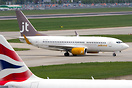 The danish airline Jettime (JTG) will be operating 2 B737-700 aircraft...