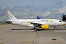 Aer Lingus Aircraft now painted in the colours of Vueling Airlines ope...