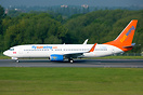 Sunwing Airlines 737-800 C-FWGH is operating for Thomson Airways for t...