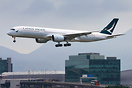 Cathay Pacific's first A350-900 XWB arriving Hong Kong in the morning ...