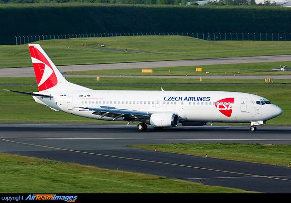 Boeing 737-49D (OM-GTB) Aircraft Pictures & Photos