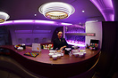 Qatari Airbus A380 Business Lounge