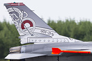 New logojet for RDAF F-16 solo display