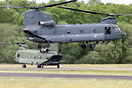 One of the new CH-47Fs of the RNLAF