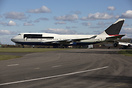 This ex British Airways Boeing 747 arrived at Kemble on December 7th 2...