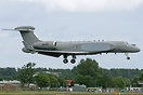 Gulfstream G550CAEW, N554GA, is the second such aircraft for the Itali...