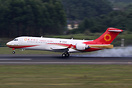 ARJ21`s first commercial flight,SHA back to CTU