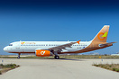 First aircraft for this new Greek charter airline Orange2Fly
