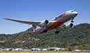 """Positive rate"" Jetstar 15 gets airborne from runway 33 at Cairns head..."