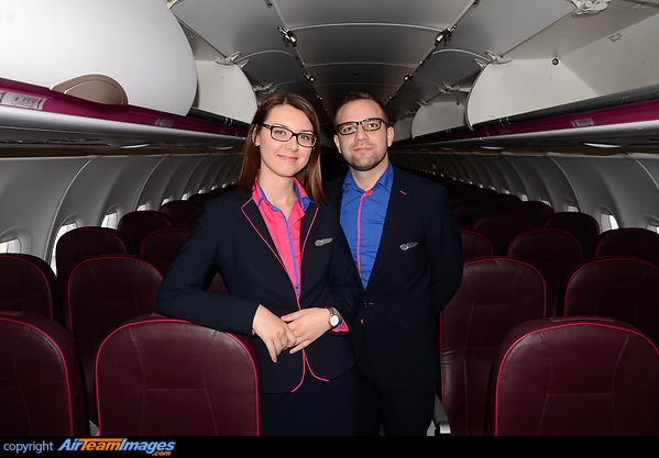 Wizz Air Cabin Crew Ha Lyt Aircraft Pictures Photos Airteamimages Com