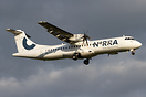 NORRA - Nordic Regional Airlines started to apply logo and titles on i...