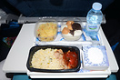 Economy Meal From Amsterdam to Abu Dhabi