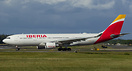 Iberia A330 ready for take off.