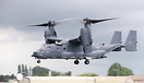 Bell-Boeing CV-22B Osprey from the 7th SOS/352nd displayed on Sunday a...