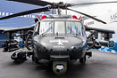 The new armed Sikorsky S-70i Black Hawk provided the centrepiece for L...
