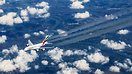 Overhead Rzeszow in Poland cruising at FL380 as we passed 3,000ft abov...