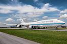 State of Kuwait Boeing 747-8I visited Salzburg for the second time on ...