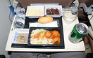 Economy Meal From Washington to Abu Dhabi