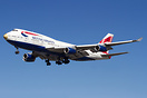 British Airways Boeing 747-400 G-CIVA now bears the new name VictoRIO...