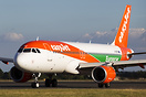 New logo applied showing easyJets partnership with Europcar