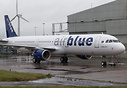 Latest Airbus A321 to join the fleet of AirBlue freshly out of Airbour...
