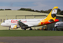 Recent arrival into Kemble is this A319 of Fastjet of Tanzania for sto...